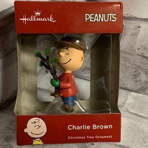 Hallmark Charlie Brown Ornament Red Box 2018